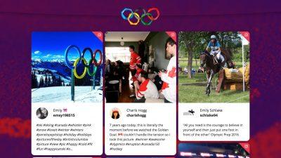Olympics tiles